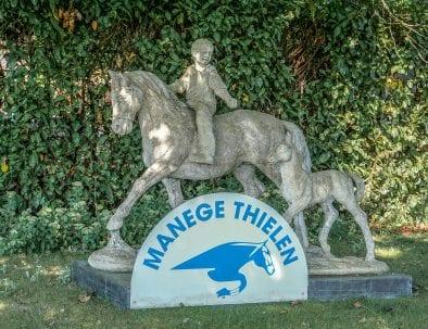 Paardrijden bij Manage Thielen