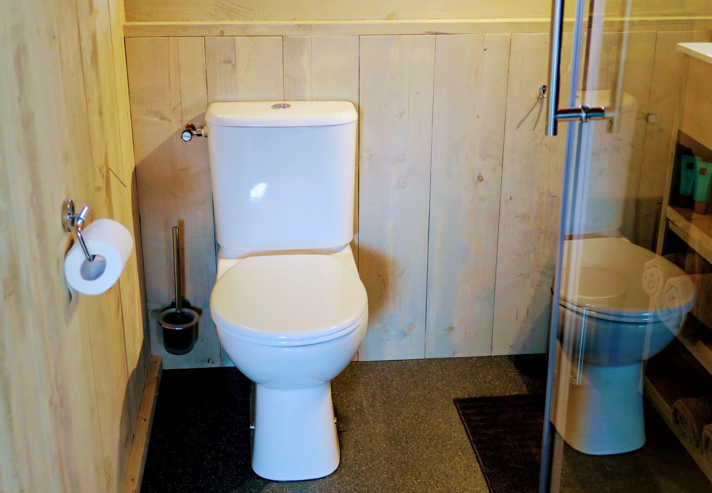 wc op badkamer
